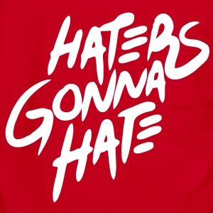 Haters Gonna Hate Zip Hoodies/Jackets - stayflyclothing.com - Unisex Fleece Zip Hoodie by American Apparel