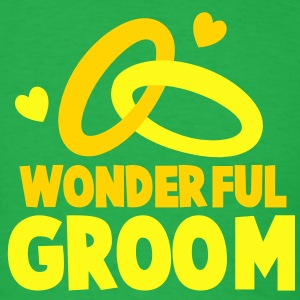 WONDERFUL GROOM T-Shirts - Men's T-Shirt