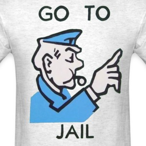 Go To Jail Tee - Men's T-Shirt