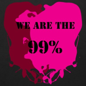 We Are The 99% - Occupy Wall Street Movement Graphic Text Design Bags  - Eco-Friendly Cotton Tote