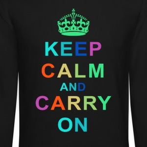 Keep Calm and Carry On Tee - Crewneck Sweatshirt