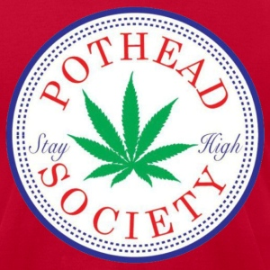Pothead Society Tee - Men's T-Shirt by American Apparel