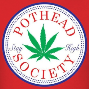 Pothead Society Tee - Men's T-Shirt