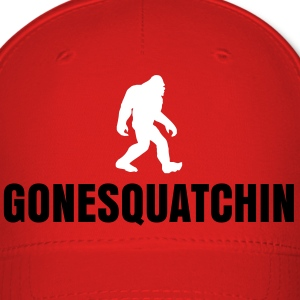 Gone Squatchin Red - Baseball Cap