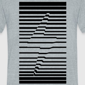 Thunderbolt - Unisex Tri-Blend T-Shirt by American Apparel