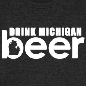 Michigan Beer T-Shirts - Unisex Tri-Blend T-Shirt by American Apparel