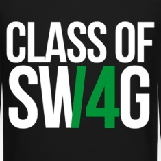 CLASS OF SWAG (14) Green no band Long Sleeve Shirts
