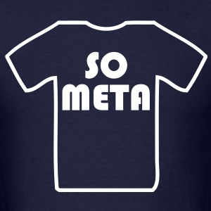 Meta Shirt on a Shirt T-Shirts - Men's T-Shirt