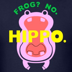 Frog? No. Hippo. T-Shirts