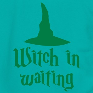 witch in waiting with witches' hat creepy! Zip Hoodies/Jackets - Unisex Fleece Zip Hoodie by American Apparel