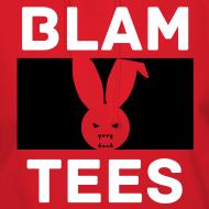Design ~ BlamTees Fashion - Boxed In - Evil Rabbit Logo - Womens Hoodie