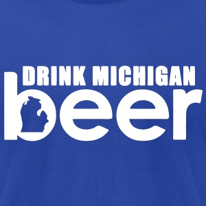Michigan Beer T-Shirts - Men's T-Shirt by American Apparel