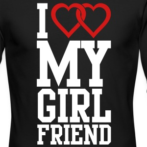 I love my Girlfriend Long Sleeve Shirts - Men's Long Sleeve T-Shirt by Next Level