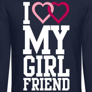 I love my Girlfriend Long Sleeve Shirts - Crewneck Sweatshirt