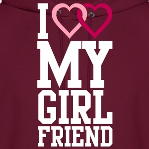 I love my Girlfriend Hoodies - Men's Hoodie
