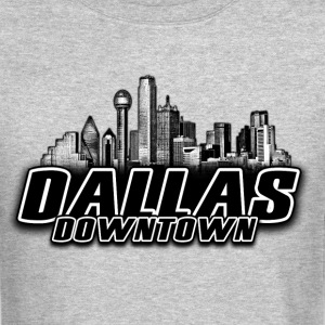 dallas downtown Skyline Long Sleeve Shirts - Crewneck Sweatshirt