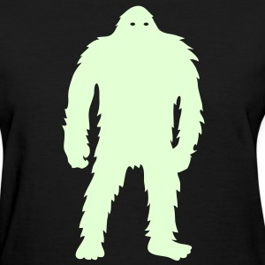 Bigfoot (Glow In The Dark) - Women's - Women's T-Shirt