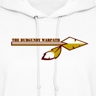 Design ~ Women's Burgundy Warpath Hoodie
