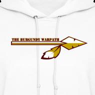 Design ~ Women's Burgundy Warpath Hoodie