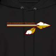 Design ~ Men's Burgundy Warpath Hoodie
