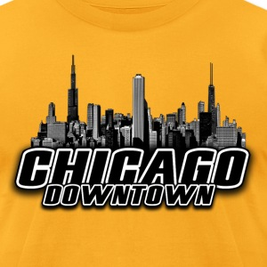 chicago_02 T-Shirts - Men's T-Shirt by American Apparel