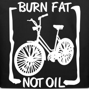 Burn Fat not Oil Bags  - Eco-Friendly Cotton Tote