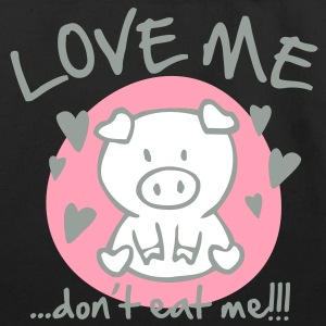 Love me, dont eat me Bags  - Eco-Friendly Cotton Tote