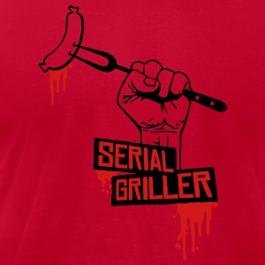 Serial Griller T-Shirts - Men's T-Shirt by American Apparel