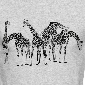 Giraffes - Men's Long Sleeve T-Shirt by Next Level
