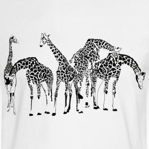 Giraffes - Men's Long Sleeve T-Shirt