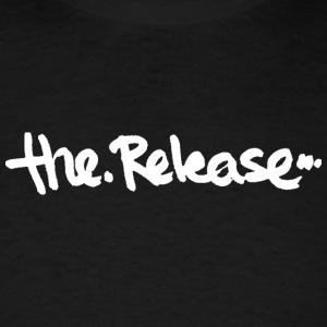 The Release Logo shirt, Black - Men's T-Shirt