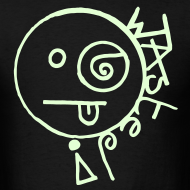 Design ~ Wasted Rave Smiley Face t-shirt