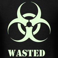 Design ~ Wasted Raver Warning Glow in the Dark