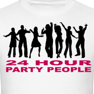 Design ~ 24 hour party people rave t-shirt