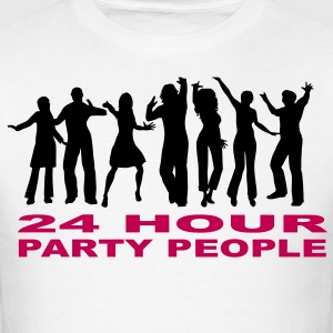 24 Hour party people  - Men's T-Shirt