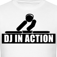 Design ~ DJ in action rave t-shirt
