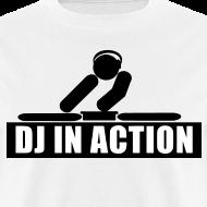 Design ~ DJ in action rave t-shirt