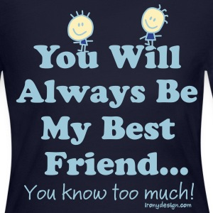 Best Friends Knows - Women's Long Sleeve Jersey T-Shirt