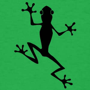 Tree Frog HD VECTOR T-Shirts - Men's T-Shirt