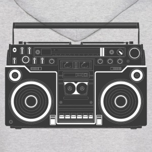 Boom Box HD DESIGN Hoodies - Men's Hoodie