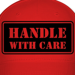 Handle With Care HD VECTOR Caps - Baseball Cap