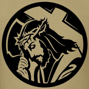 Jesus HD VECTOR T-Shirts - Men's T-Shirt