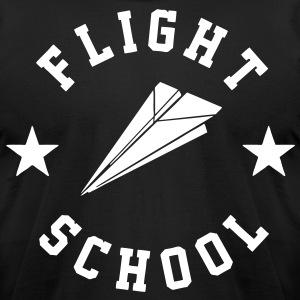 Flight School T-Shirts - stayflyclothing.com - Men's T-Shirt by American Apparel