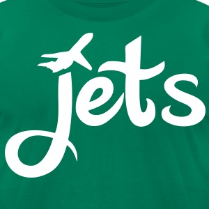 Jets T-Shirts - stayflyclothing.com - Men's T-Shirt by American Apparel
