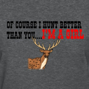 Deer Hunting Shirts For Girls - Women's T-Shirt