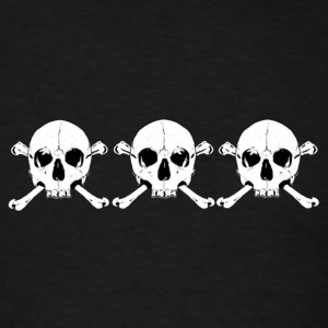 xxx skull and bones - Men's T-Shirt