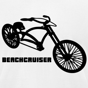 Beachcruiser T-Shirts - Men's T-Shirt by American Apparel