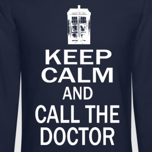 Keep Calm and Call The Doctor Long Sleeve Shirts - Crewneck Sweatshirt