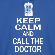 Keep Calm and Call The Doctor Hoodies