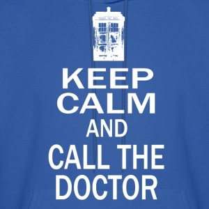 Keep Calm and Call The Doctor Hoodies - Men's Hoodie